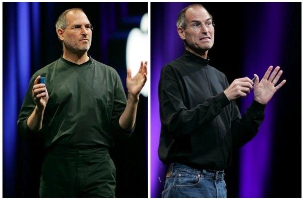 Steve Jobs, MacWorld Exporen aurreko bi edizioetan. Bistan da osasunez ez dabilela oso ondo.