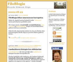 Blogariak Amaraunean, 2009/08/30 10