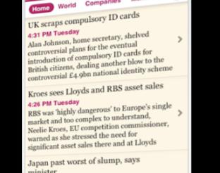 Financial Times eta App Store bidezko harpidetzak 13