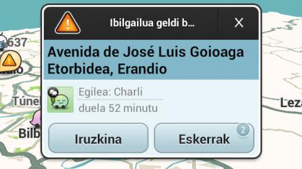 Euskarazko ahotsa Waze GPSrako 4