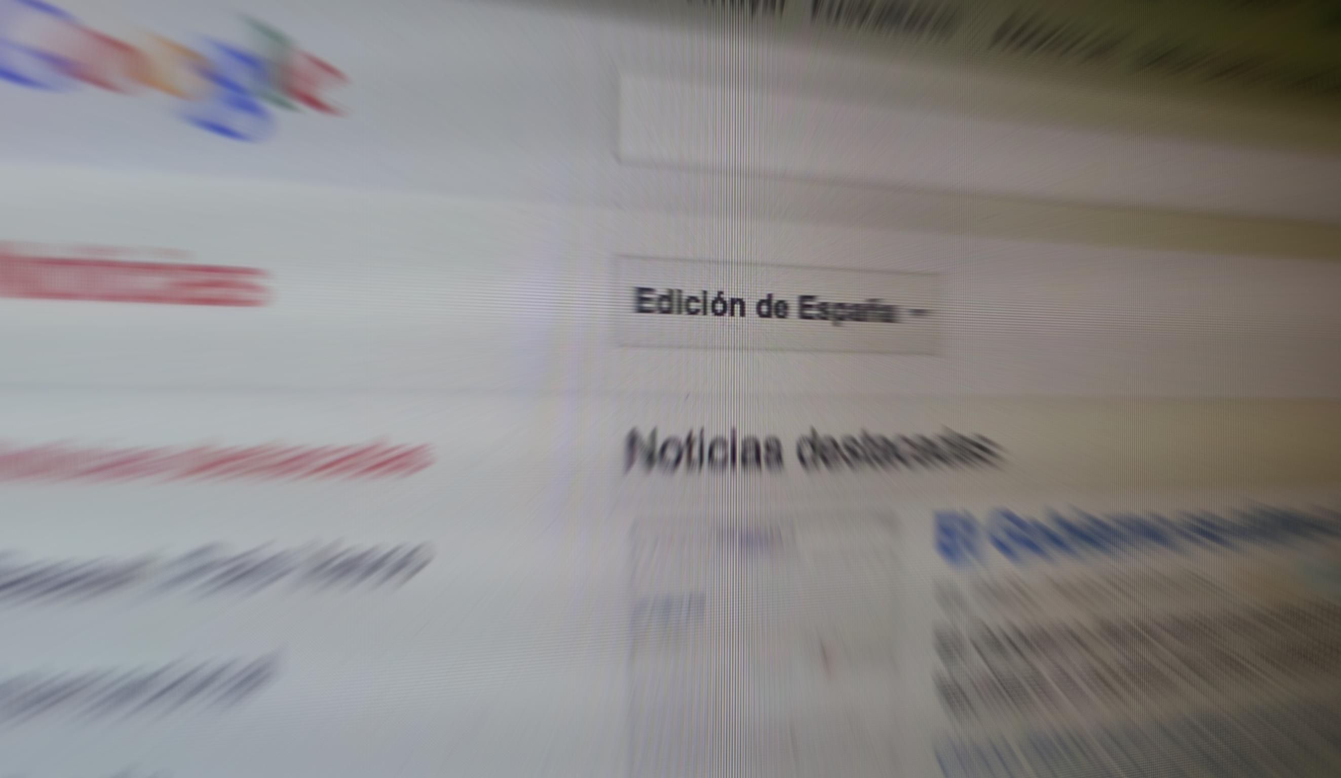 Google, Espainiako News orria ixtekotan 11