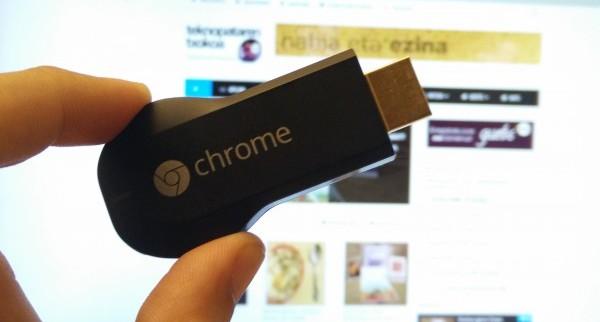 Chromecast: jario erreproduktore merkea 1