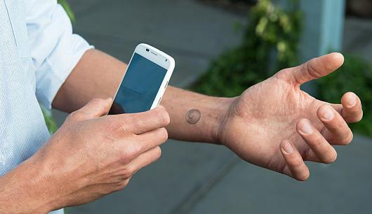 VivaLNK enpresak NFC tatuak saltzen ditu jadanik, sakelakoarekin erabiltzeko modukoak