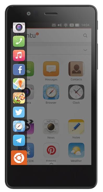 Ubuntu Phone Launcher