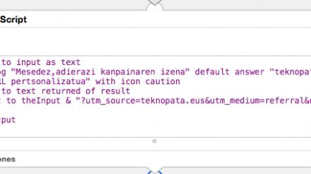 Pertsonalizatu zure URLak automatikoki (Mac) 7