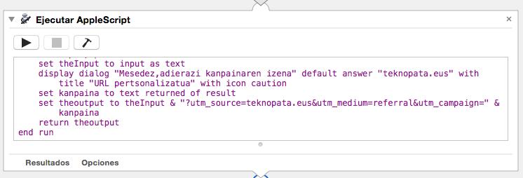 Pertsonalizatu zure URLak automatikoki (Mac) 11