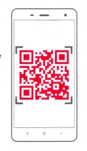 Xiaomi Yi app QR