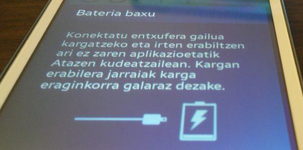 kargatu bateria