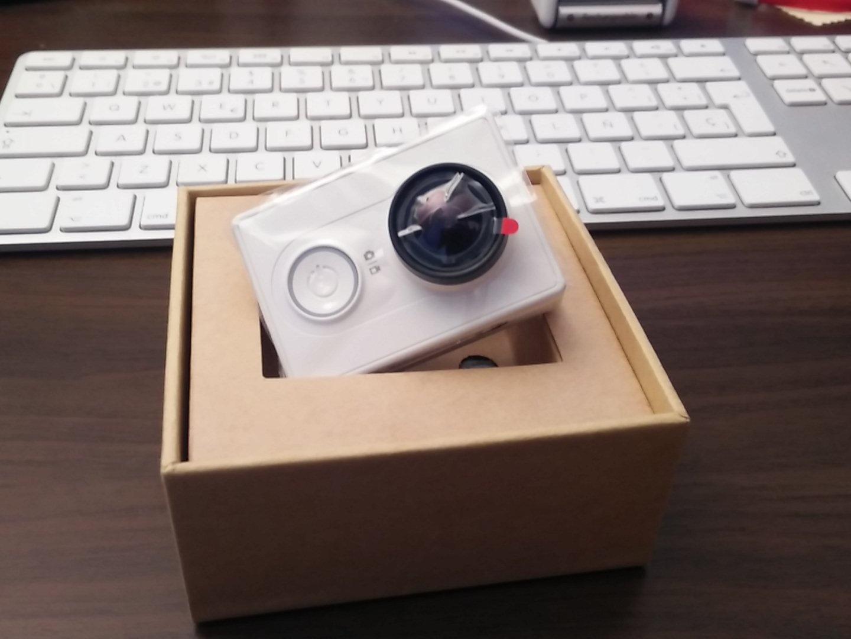 Iritsi da crowdzozketako Xiaomi Yi kamera :-) 3