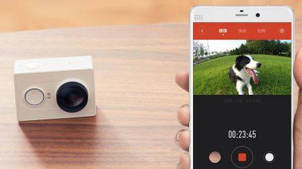 Crowdzozketaren saria: Xiaomi Yi kirol kamera 5
