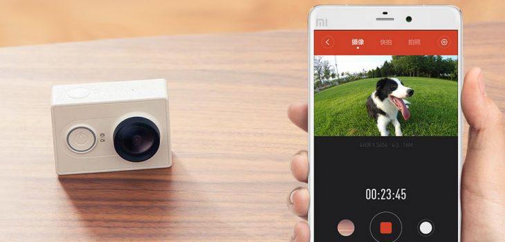 Crowdzozketaren saria: Xiaomi Yi kirol kamera 9