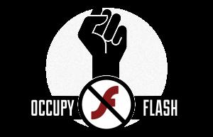Occupy Flash mugimenduaren logoa