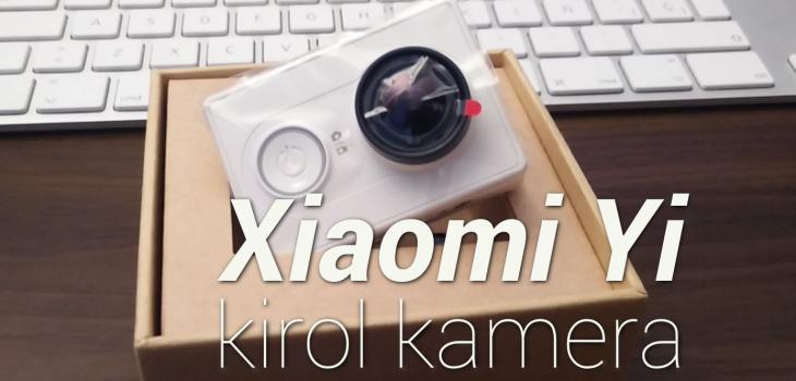 Xiaomi Yi, kirol kamera merkea 3