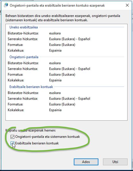 windows10-euskaraz-kopiatuezarpenak