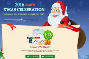 Deskontu handiak Leawo softwarean 1