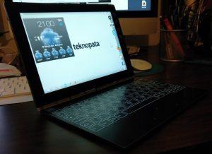 Lehen inpresioak: Lenovo Yoga Book 3