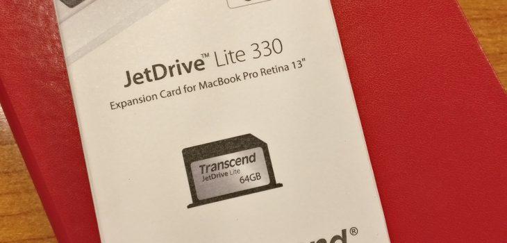 JetDrive Lite: Giga gehiago zure MacBook portatilean, merke antzean 9