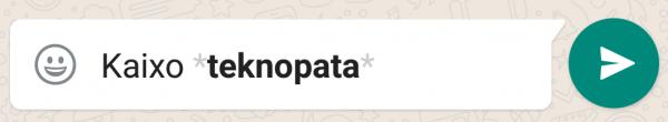 whatsapp letra beltza