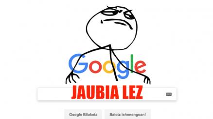 Nola bilatu Googlen jaubia lez 3