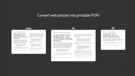 Simple Print, webguneetako testuak erraz eta txukun inprimatzeko 19