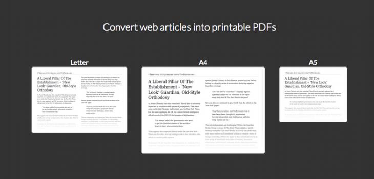 Simple Print, webguneetako testuak erraz eta txukun inprimatzeko 9