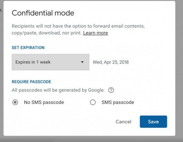Nola aktibatu Gmail berria 5