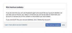 Agur, Facebook! Nola? (2/3) 9