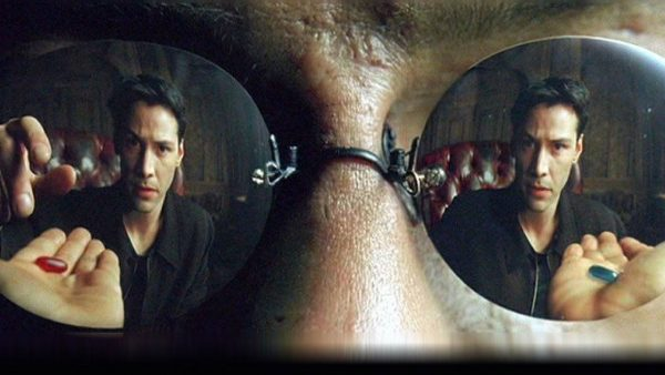 morfeo facebook red blue pill matrix