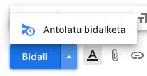 Nola programatu Gmaileko mezuak, geroago bidaltzeko 1
