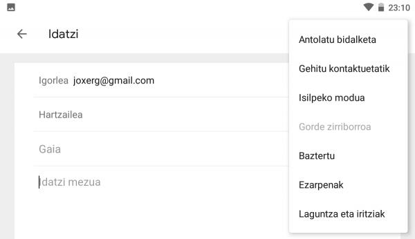 Nola programatu Gmaileko mezuak, geroago bidaltzeko 7
