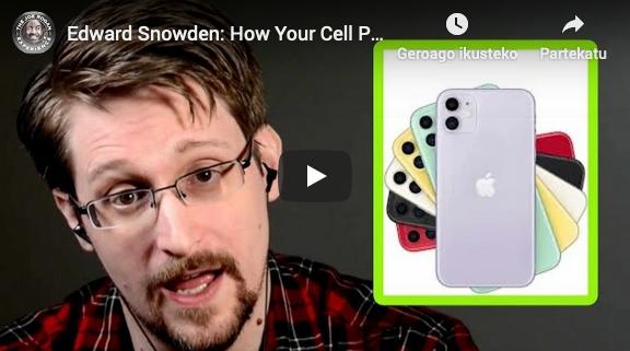 Snowdenen elkarrizketa
