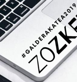 #galderakatea 2019. Zozketarako zenbakiak 3