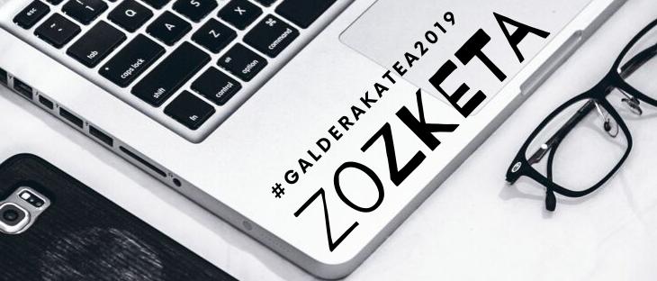 #galderakatea 2019. Zozketarako zenbakiak 1