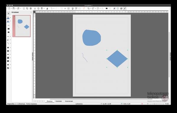 LibreOffice Draw Mac bertsioa