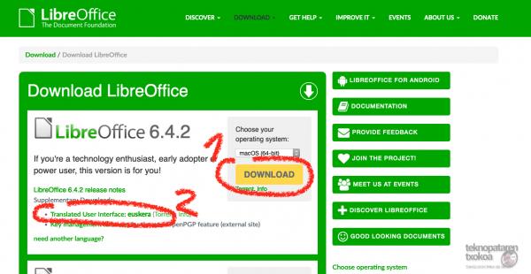 Denborapasa teknologiko produktibo euskaltzaleak itxialdirako 6/7: LibreOffice 6