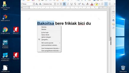 Denborapasa teknologiko produktibo euskaltzaleak itxialdirako 6/7: LibreOffice 16