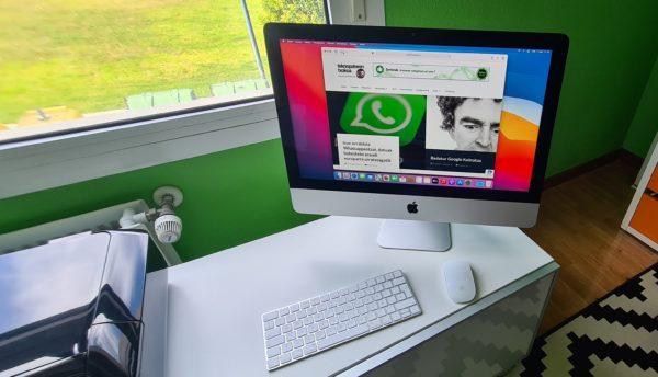"""iMac 21'5"""" salgai"""